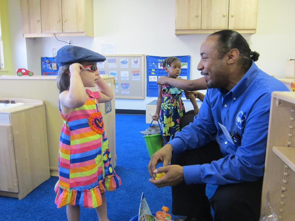 Ready for Summer ! EHS Child & Teacher