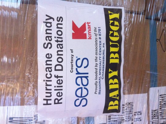 26 pallets from Sears and Kmart arriving this week