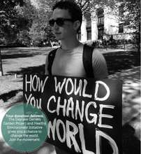 How can you change the world today?