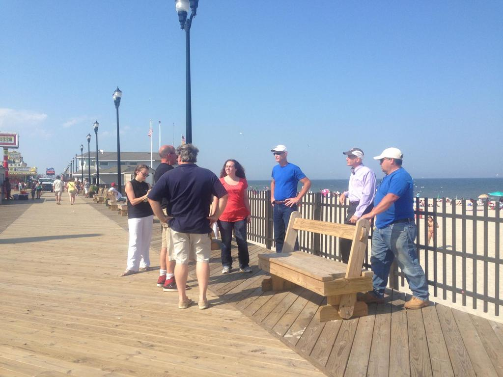 Restore the Shore - sunshades for boardwalk