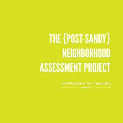 AFH:NY Neighborhood Assessment Project