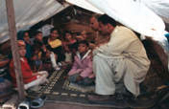 Food, Supplies, and Housing for Displaced Families