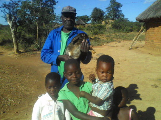 Uncle Tarirai and children