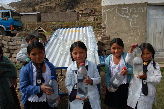 Solar water disinfection for safe drinking water