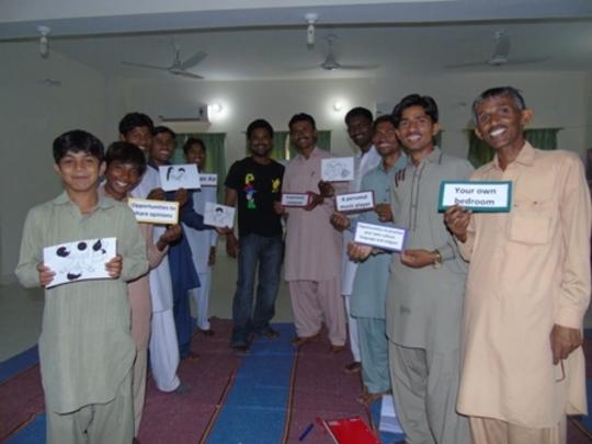 Aflateen Training for PEP Teens