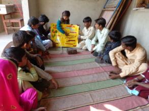 Sangeeta in school