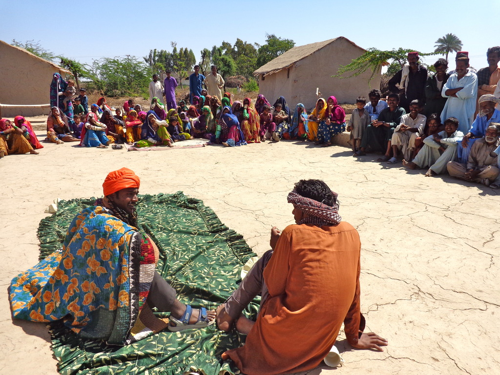 Role Plays on Community Health and Sanitation