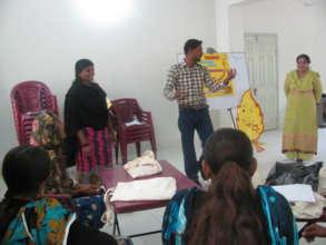 Aflatoun training for teachers