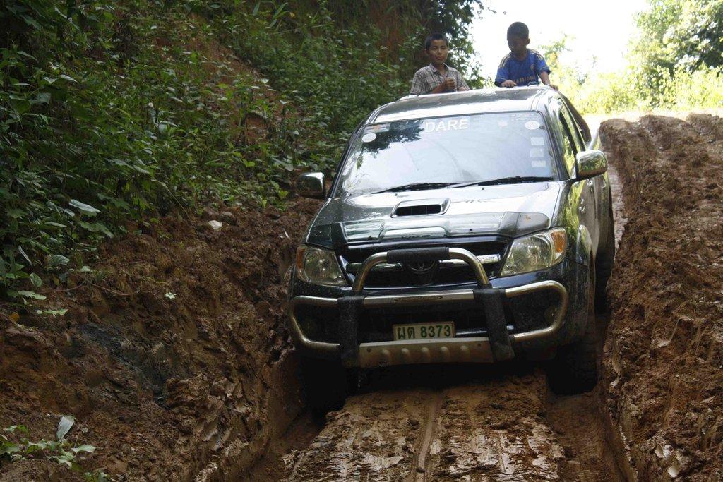 Dashing through the Mud