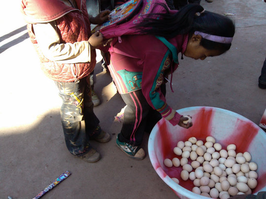 An egg a day for kids in rural China