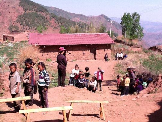 Zhengluo Sub-school, part of Alo School in Sichuan