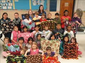 Make 500 blankets for animals and children in need