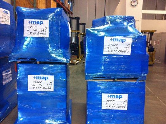 Shipment Leaving for DRC