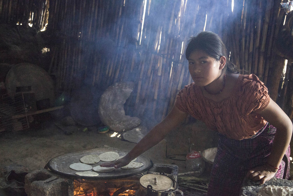 Safe, Energy Efficient Cookstoves in Guatemala