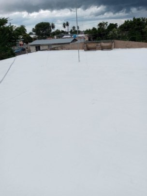 Roof after being sealed