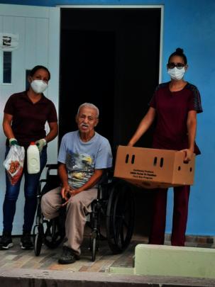 Case Coordinator & Nurse groceries delivery
