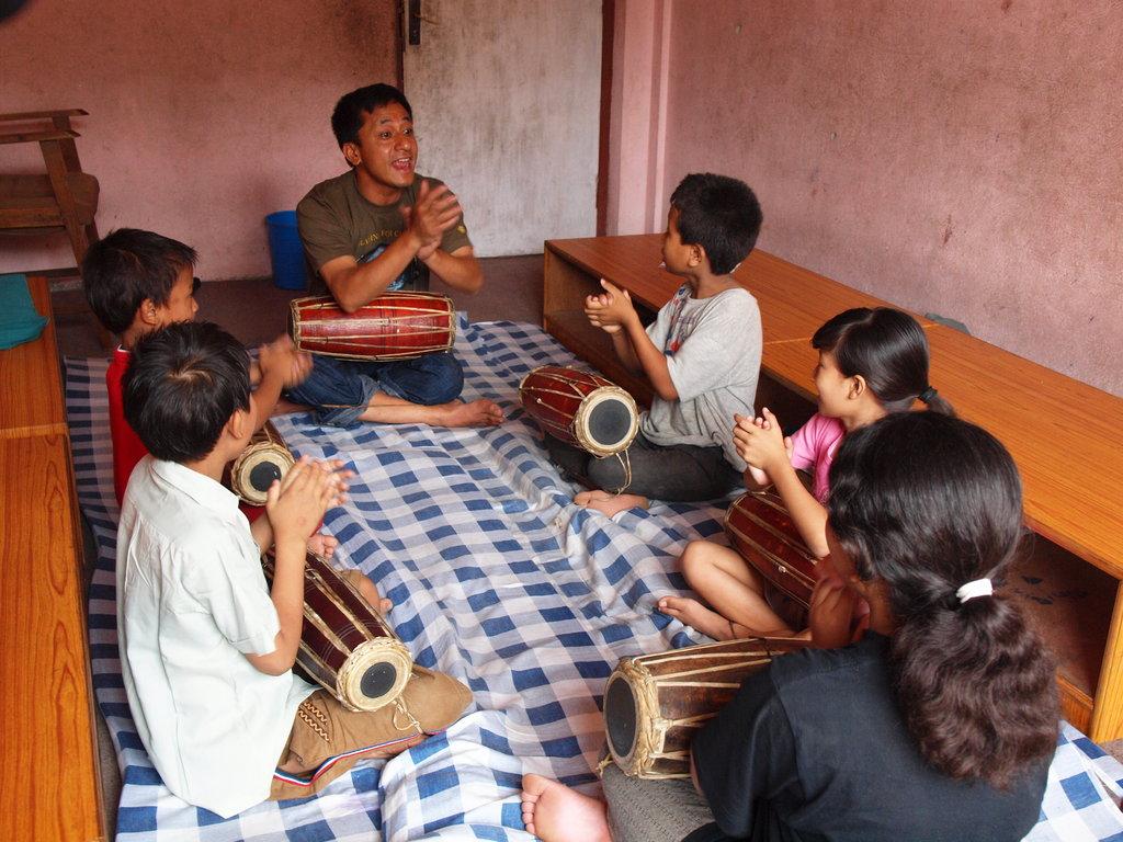 Provide Music Classes for Children in Nepal