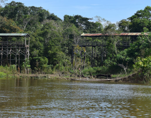 4. Broken bridge on path to Puca Urquillo