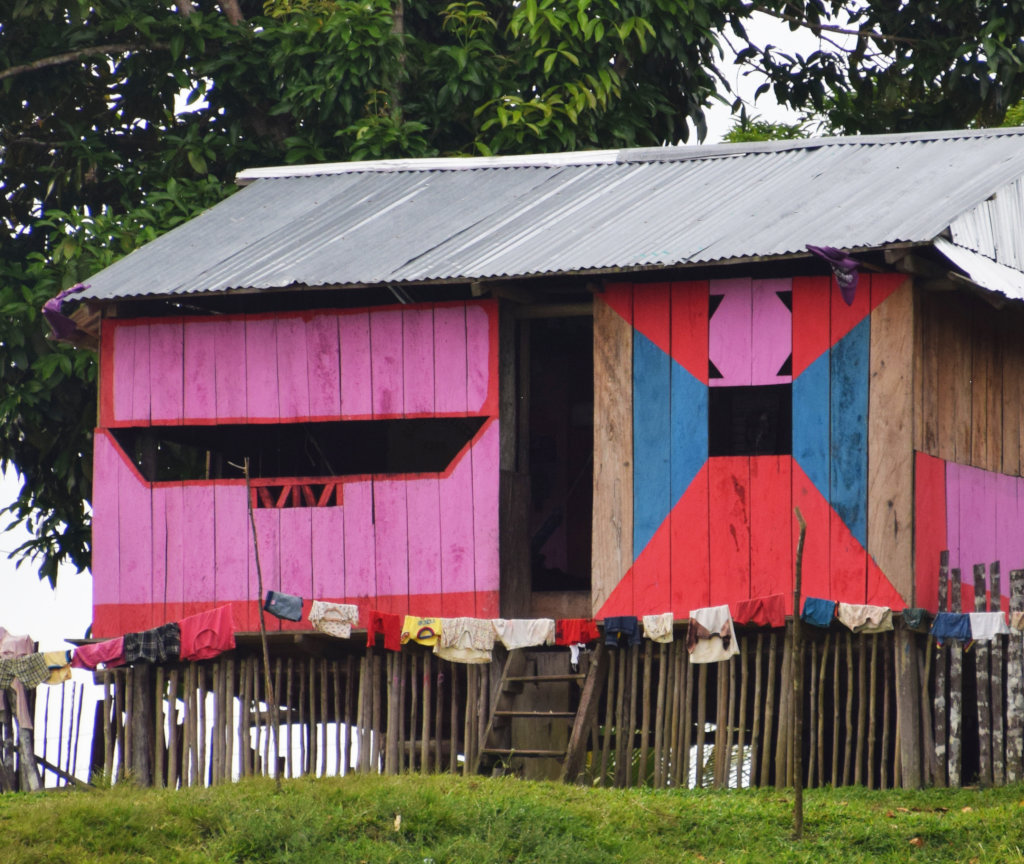 7. Pink house near Pebas