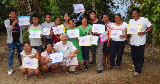 Graduates from AVP Training for Facilitators