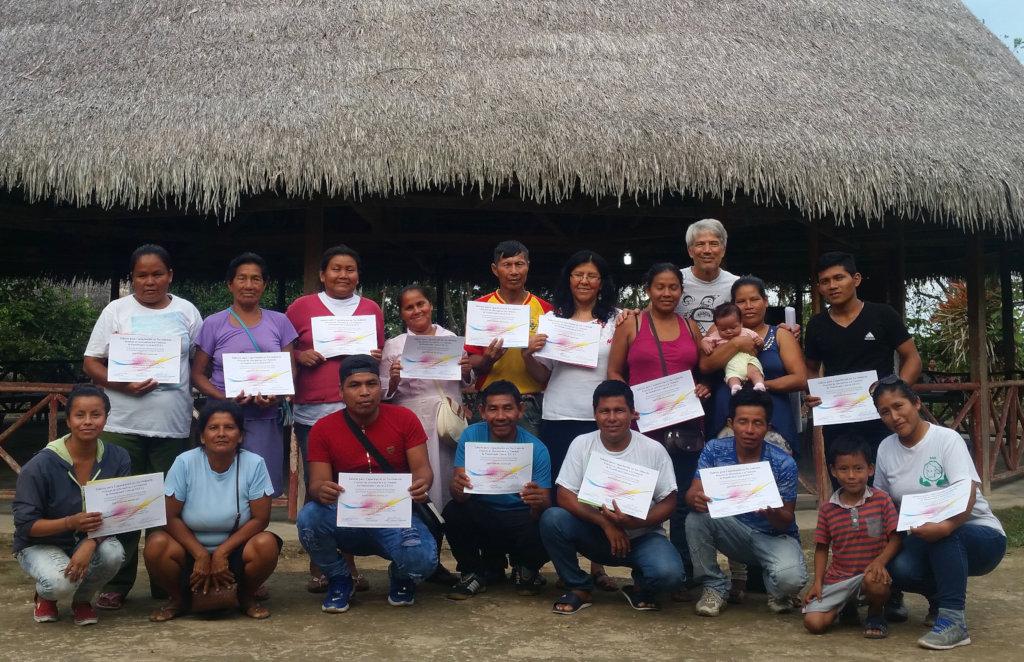 Participants at workshop in Nauta