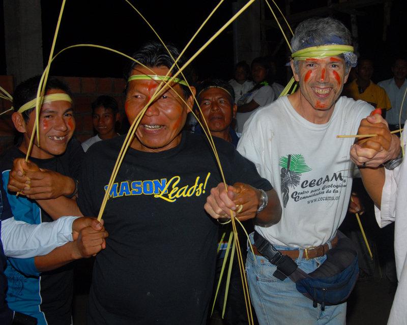Campbell Plowden and Shebaco at Maijuna festival