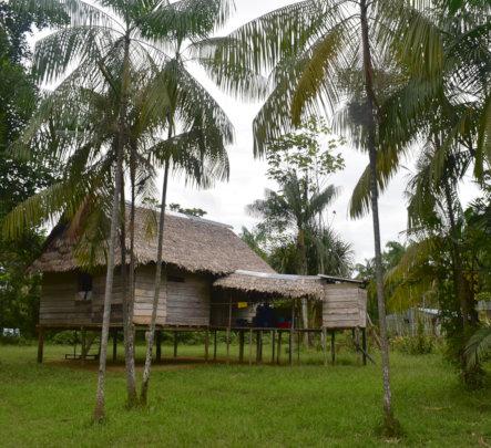 CACE house in Bora native village of Brillo Nuevo