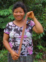 Bora artisan with new woven Amazon hat band