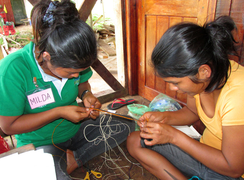 Cooperative craft making exercise