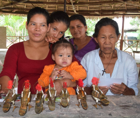 Mirian with 4 generations of artisans