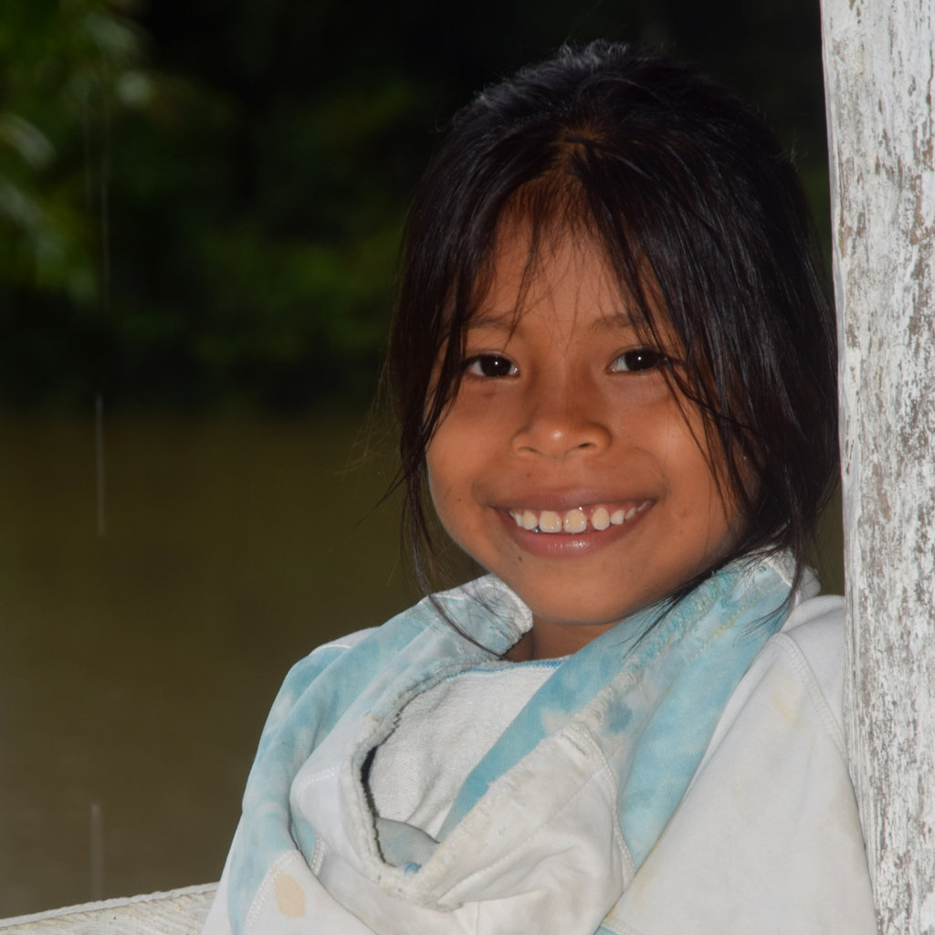 Artisan daughter at Nuevo Peru