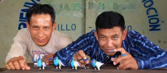 Pablo and Edson - artisan facilitators