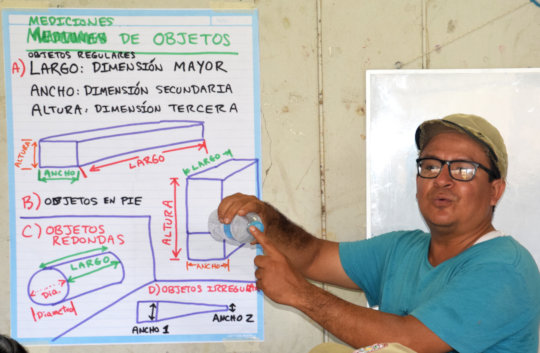 Tulio from CACE explaining measuring terms