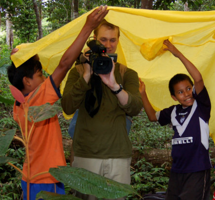 Videographer Greg H. - Amazon Field Volunteer
