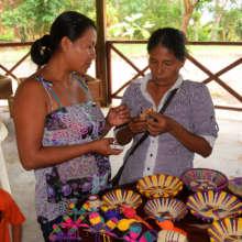 Artisan craft sharing fair: ornaments & baskets