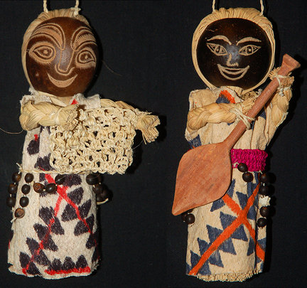 Huitoto doll ornaments. Plowden/CACE