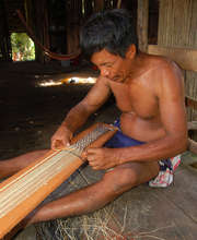 Bora artisan weaving Amazon guitar strap