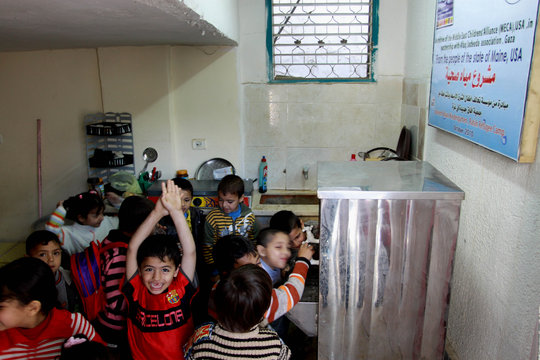 Clean Water for Children with Disabilities in Gaza