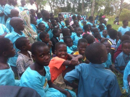 School children!