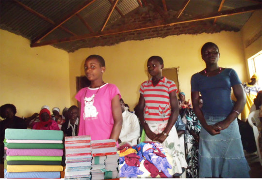 Children at Nambogo Tororo