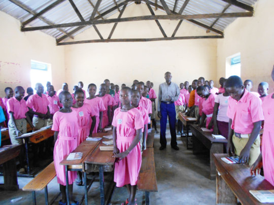 Primary Seven candidates preparing for exams