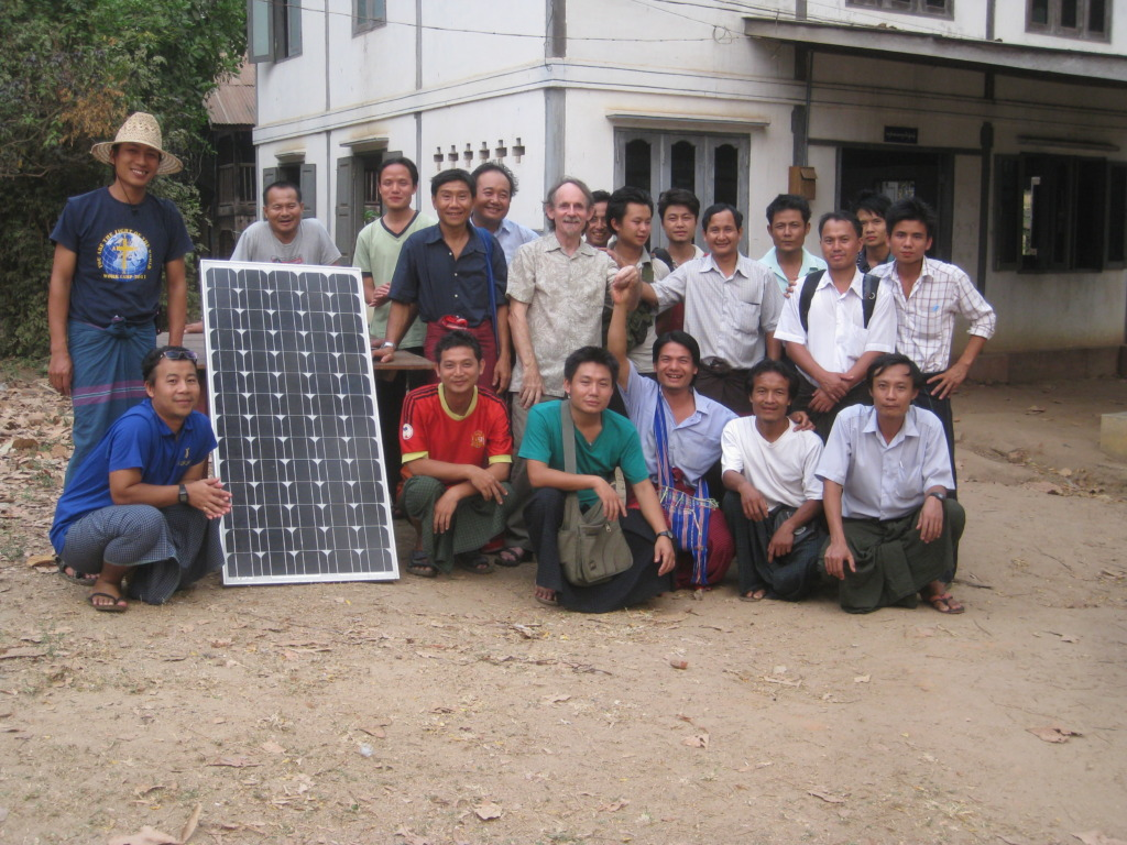 Our PV class in Taungoo.