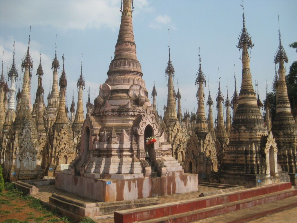 A temple in southern Shan state.
