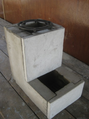 A stove that built back in 2014