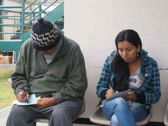 Patients at Seminar