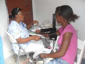 Prenatal checkup time