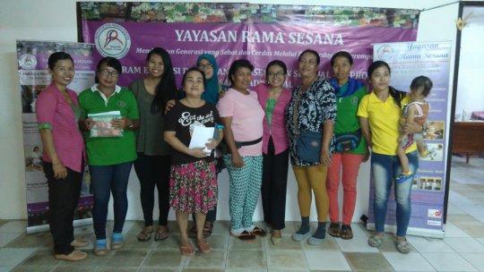 YRS Staff with Peer Educators