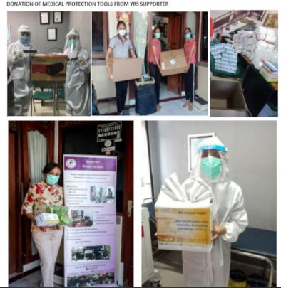 Donation of Medical Protection Tools