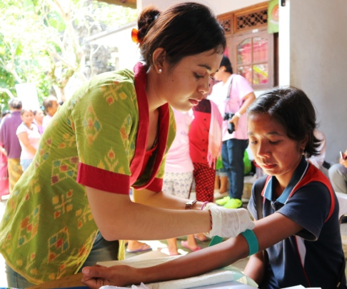 Mobile Clinic Service at Tribuana Village