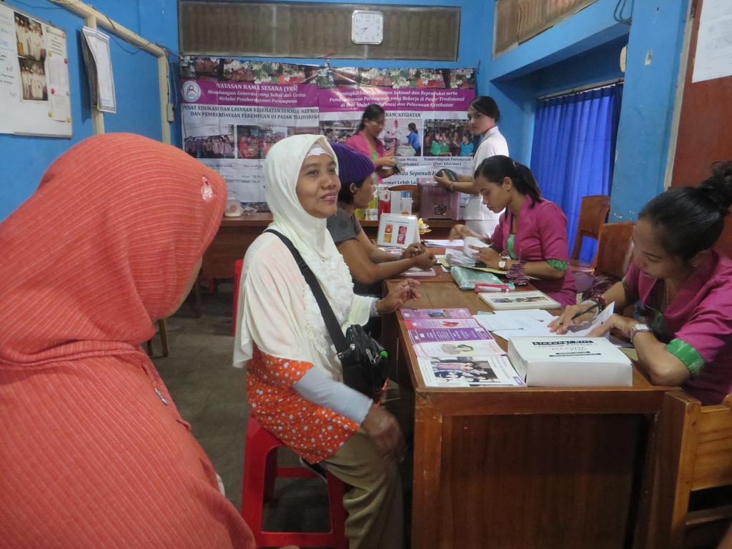 Mobile Clinic at Pasar Sanglah, Denpasar
